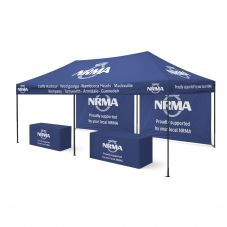 4x6 Printed Marquee Tent