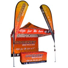 3x3 Marquee Display Package