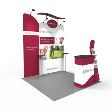 EX7 3x3m Trade Show Booth