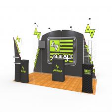 EX10 3x6m Trade Show Booth