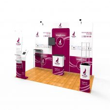 EX12 3x6m Trade Show Booth