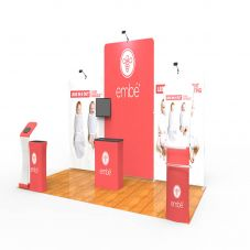 EX15 3x3m Trade Show Booth